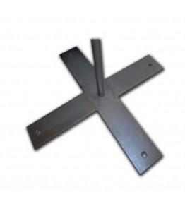 Cruceta de metal fija