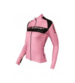 Equipaciones ciclismo personalizadas. Chaqueta térmica mujer