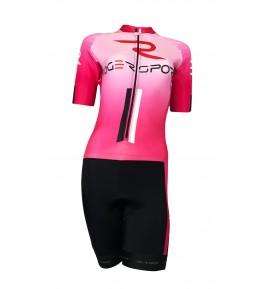 Equipaciones ciclismo personalizadas. Buzo mujer