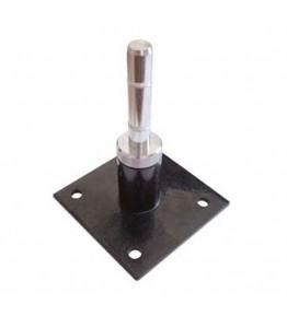Cruceta de metal con base rotatoria